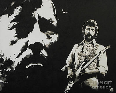Eric Clapton Painting - Journeyman by ID Goodall