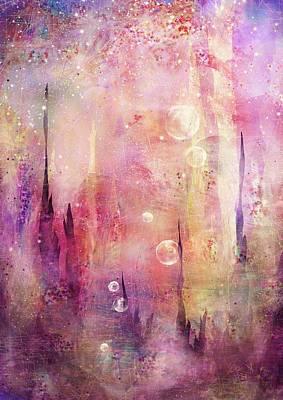 Mindscape Digital Art - Journeys by Rachel Christine Nowicki