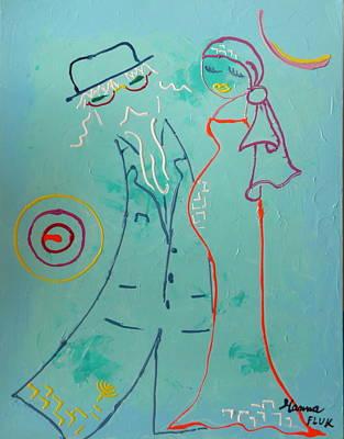 Joy Art Print by Hanna Fluk