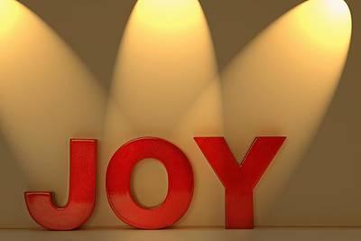 Joy Art Print by Leah Hammond
