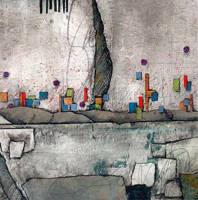 Abstracts Mixed Media - Joy Of Everyday by Laura  Lein-Svencner