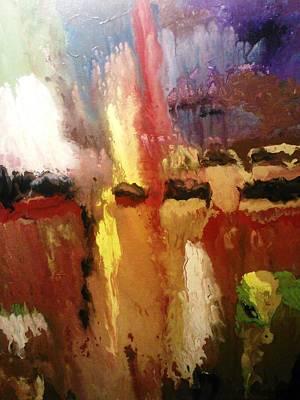 Painting - Joy Of Melancholy by Ray Khalife
