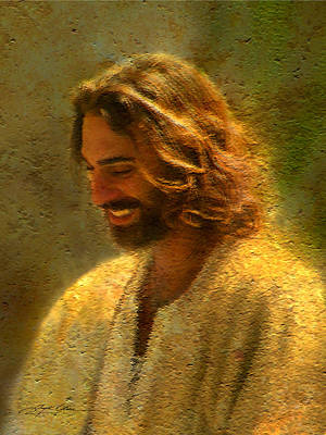 Smiling Jesus Painting - Joy Of The Lord by Greg Olsen