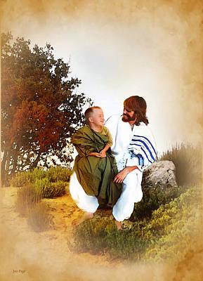 Jennifer Page Mixed Media - Joy Of The Lord by Jennifer Page