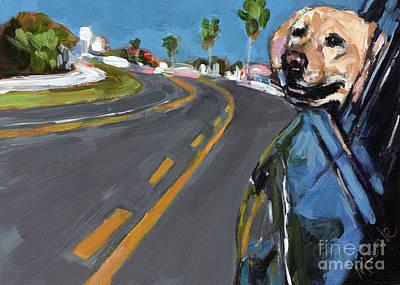 Joy Ride Art Print by Molly Poole