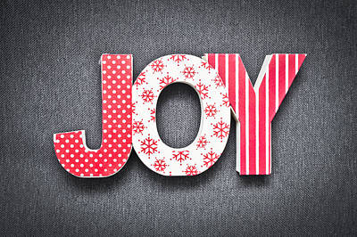 Joy Sign Art Print by Tom Gowanlock
