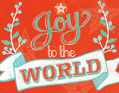 Joy To The World Print by Mary Urban