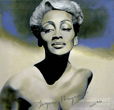 Painting - Joyce Bryant  by Chelle Brantley