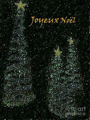 Photograph - Joyeux Noel by Barbie Corbett-Newmin