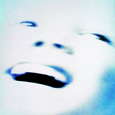 Human Face Photograph - Joyful Face by Eddie Lawrence