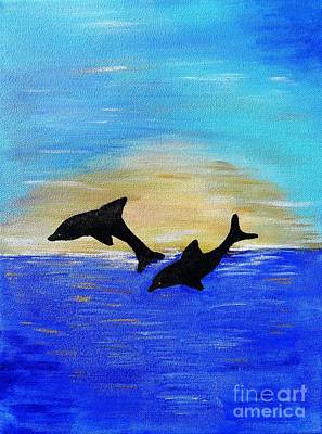 Joyful In Hope Art Print by Karen Jane Jones