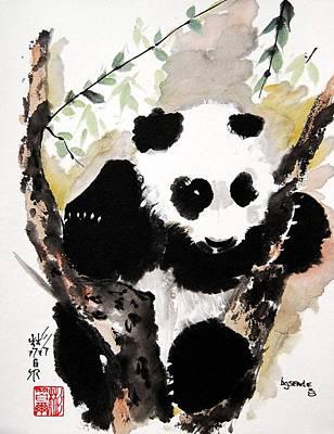Art Print featuring the painting Joyful Innocence by Bill Searle