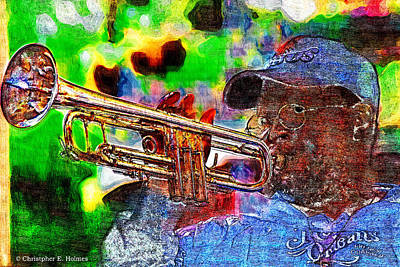 Photograph - Joyful Jazz by Christopher Holmes