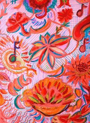Joyful Joyful Art Print by Anne-Elizabeth Whiteway