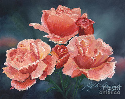 Painting - Joyful Joyful by Edythe Alexander