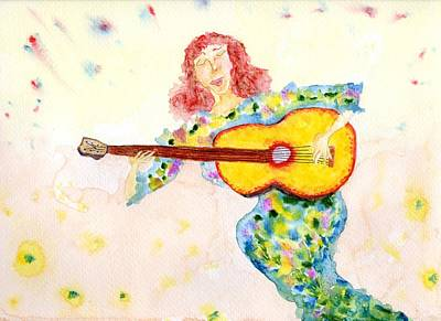 Painting - Joyful Playing by Jim Taylor