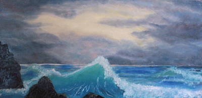 Painting - Joyful Sea by Claudia Croneberger
