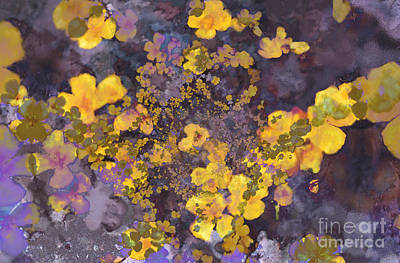 Digital Art - Joyous Meadow 2 by Ursula Freer