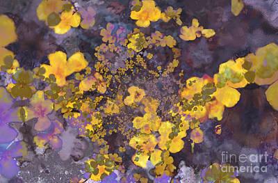 Joyous Meadow 2 Art Print by Ursula Freer