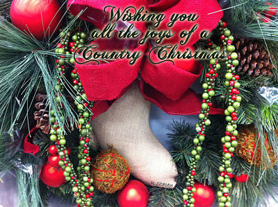 Photograph - Joys Of Country Christmas by Robyn Stacey