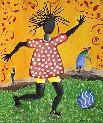 Joy's Promise Art Print by Patricia Sabree