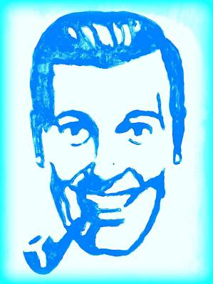 Digital Art - J.r. Bob Dobbs Pop Art Church Subgenius by Bob Baker