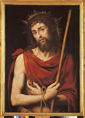 Juanes, Juan De 1523-1579. Ecce Homo Art Print