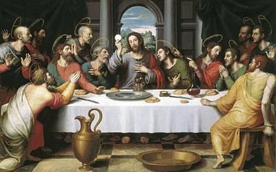 Juanes, Juan De 1523-1579. The Last Art Print