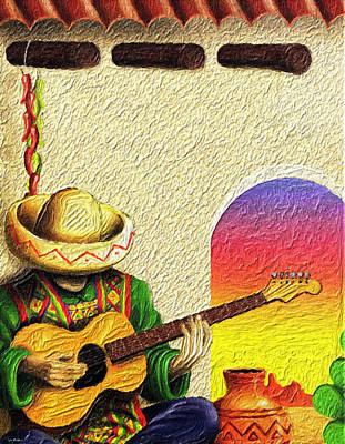 Juan's Song Art Print