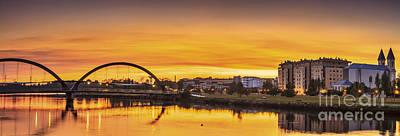 Photograph - Jubia Bridge Panorama Neda Naron Galicia Spain by Pablo Avanzini