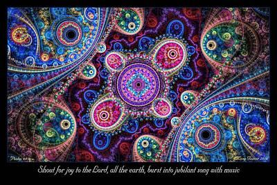 Digital Art - Jubilant Song by Missy Gainer
