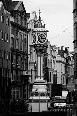 Jubilee Clock For Queen Victorias Golden Jubilee Douglas Isle Of Man Art Print by Joe Fox
