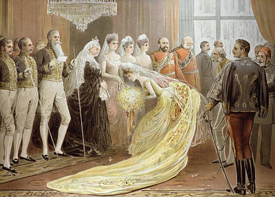 Jubilee Drawing Room, From The Illustrated London News, 21st May 1887 Litho Art Print by Henry Stephen Ludlow