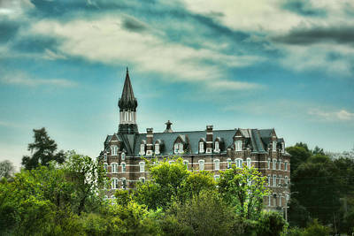 Downtown Nashville Photograph - Jubilee Hall At Fisk University - Nashville Tennessee by Jai Johnson