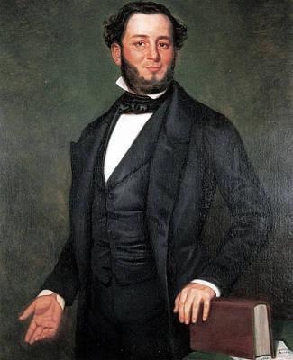 Judah Painting - Judah Philip Benjamin (1811-1884) by Granger