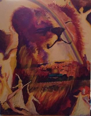 Judah Smiles Art Print by Tehya May