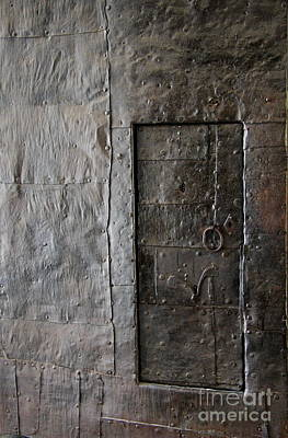 Metall Photograph - Judas Door by Christiane Schulze Art And Photography