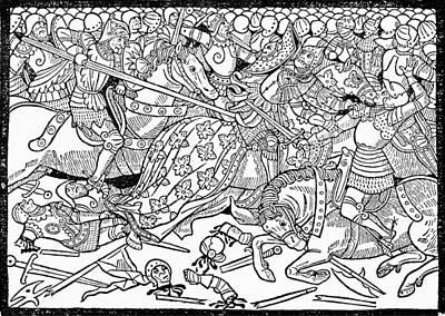 Judah Painting - Judas Maccabeus (d by Granger