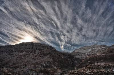 Photograph - Judean Wilderness Israel by Mark Fuller