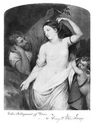 Judgement Of Paris Art Print by Granger