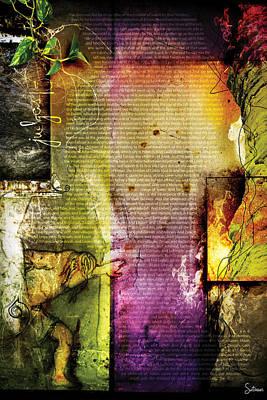 Crucify Digital Art Digital Art - Judges 15 by Switchvues Design