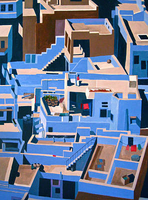 Representative Painting - Judhpur by Toni Silber-Delerive
