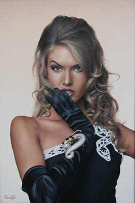 Paco Painting - Judit by Paco Leal