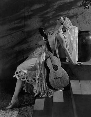 Judith Photograph - Judith Anderson In The Dove by Edward Steichen