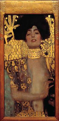 Judith Art Print by Gustive Klimt