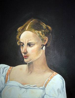Oil Painting - Judith by John Davis