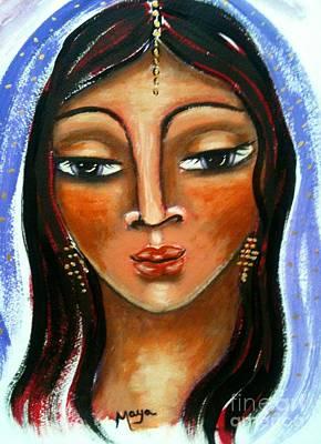 Religious Art Mixed Media - Judith by Maya Telford