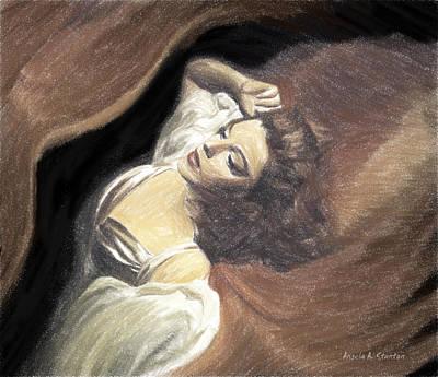 Owls - Judy Garland - Beauty Dream by Angela Stanton