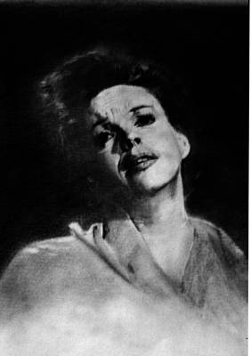 Drawing - Judy Garland by Derrick Parsons