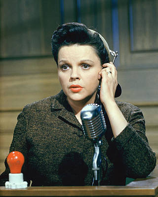 Judy Garland In Judgment At Nuremberg  Art Print by Silver Screen